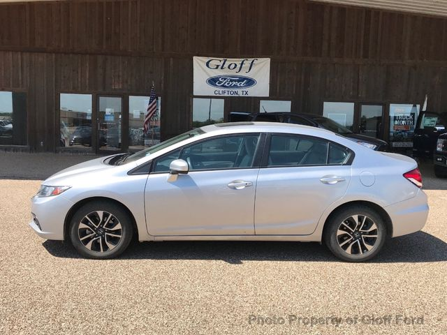 2015 Used Honda Civic Sedan 4dr Cvt Ex At Gloff Ford Serving Clifton
