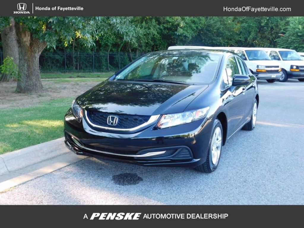 2015 Honda Civic Sedan 4dr CVT LX - 16600551 - 0