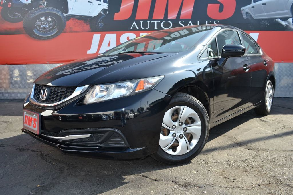 2015 Honda Civic Sedan Honda Civic LX Sedan AutoCheck 1-Owner  - 18232207 - 0