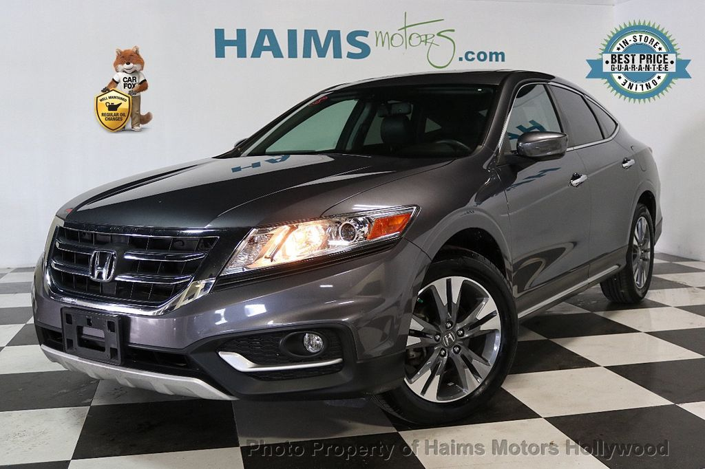 2015 honda crosstour 4wd v6 5dr ex l suv for sale hollywood fl 19 977. Black Bedroom Furniture Sets. Home Design Ideas