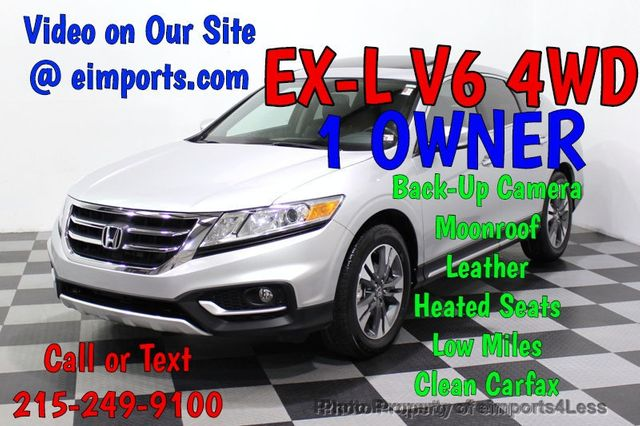 2015 Used Honda Crosstour Certified Crosstour Ex L V6 4wd Cam At Eimports4less Serving Doylestown Bucks County Pa Iid 18728866