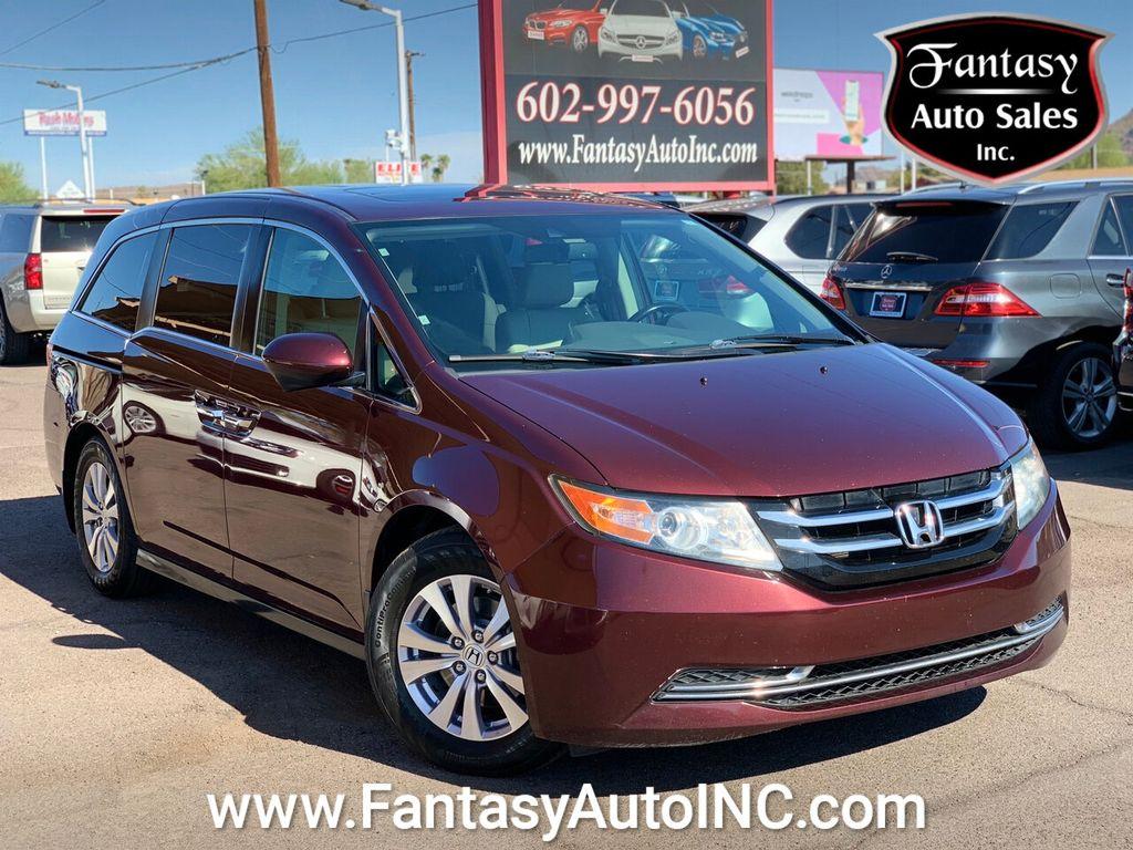 2015 Used Honda Odyssey 5dr Ex L At Fantasy Auto Sales Inc Serving Phoenix Az Iid 20437471