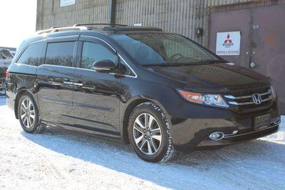 2015 Honda Odyssey TOURING ELITE NAVIGATION W/ NEW TIRES ONE OWNER Van