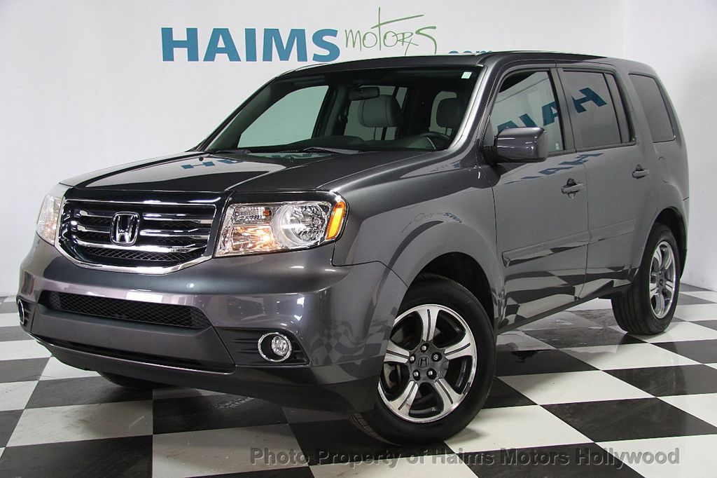 2015 used honda pilot 2wd 4dr se at haims motors serving fort lauderdale hollywood miami fl. Black Bedroom Furniture Sets. Home Design Ideas
