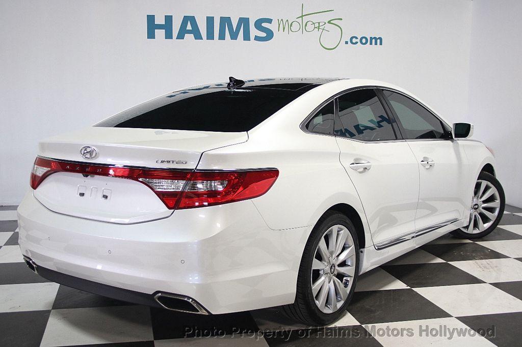 2015 Used Hyundai Azera 4dr Sedan Limited At Haims Motors Serving Fort Lauderdale Hollywood
