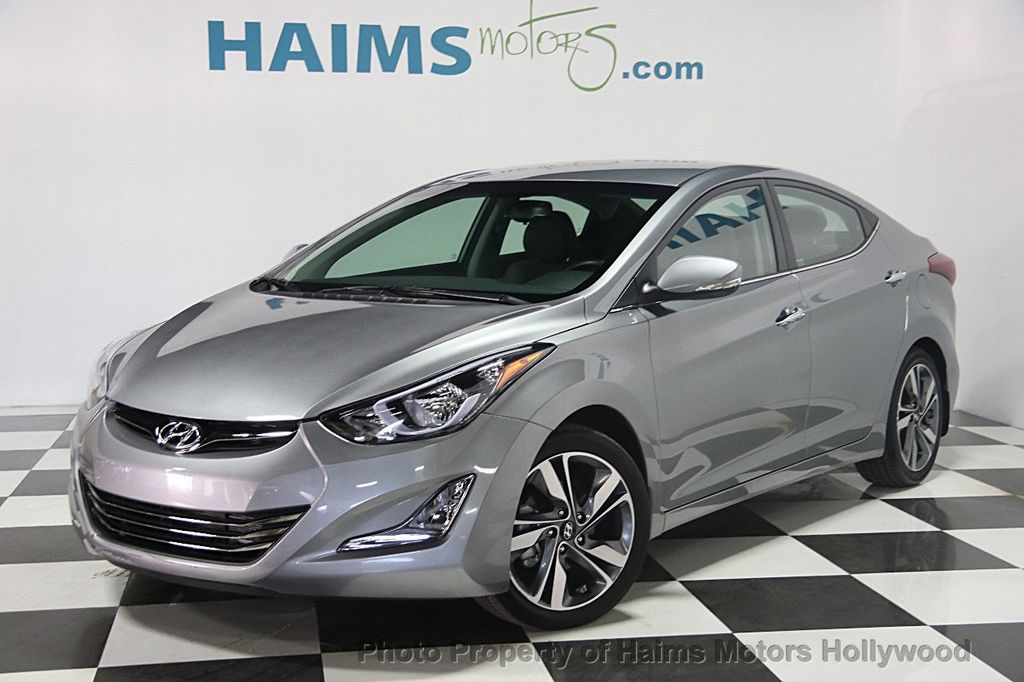 2015 used hyundai elantra 4dr sedan automatic limited at. Black Bedroom Furniture Sets. Home Design Ideas