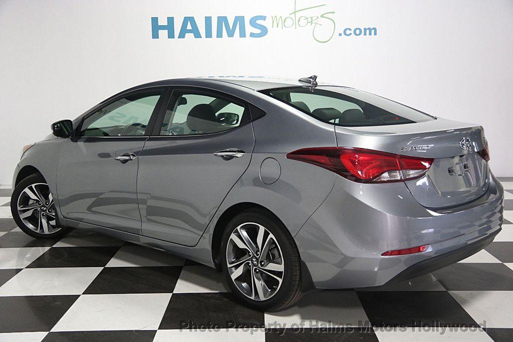2015 Hyundai Elantra 4dr Sedan Automatic Limited   15259852   3