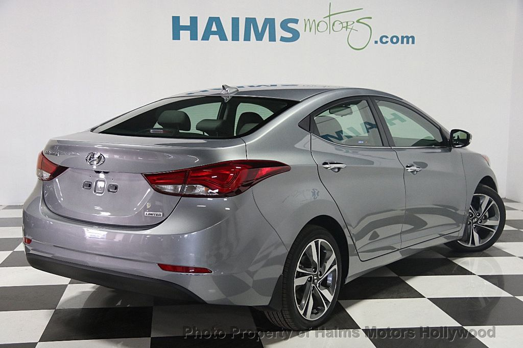 2015 used hyundai elantra 4dr sedan automatic limited at haims motors serving fort lauderdale. Black Bedroom Furniture Sets. Home Design Ideas