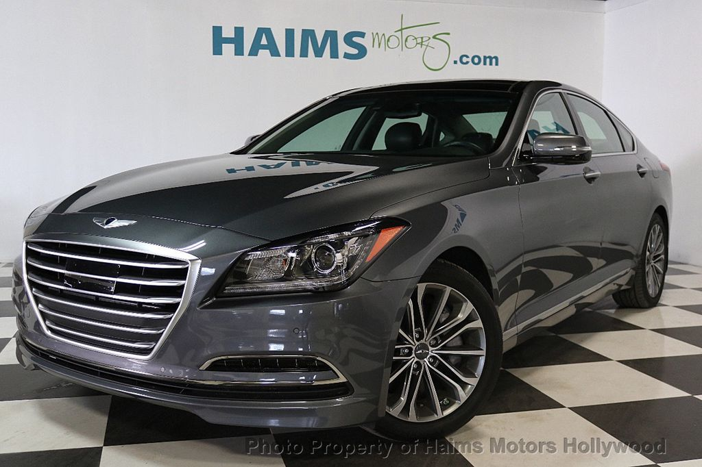 2015 Used Hyundai Genesis At Haims Motors Serving Fort