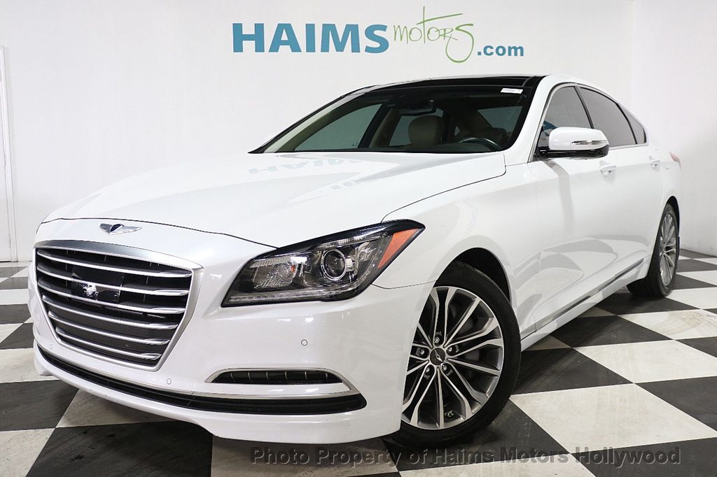 Used Hyundai Genesis Miami >> 2015 Used Hyundai Genesis at Haims Motors Serving Fort Lauderdale, Hollywood, Miami, FL, IID ...
