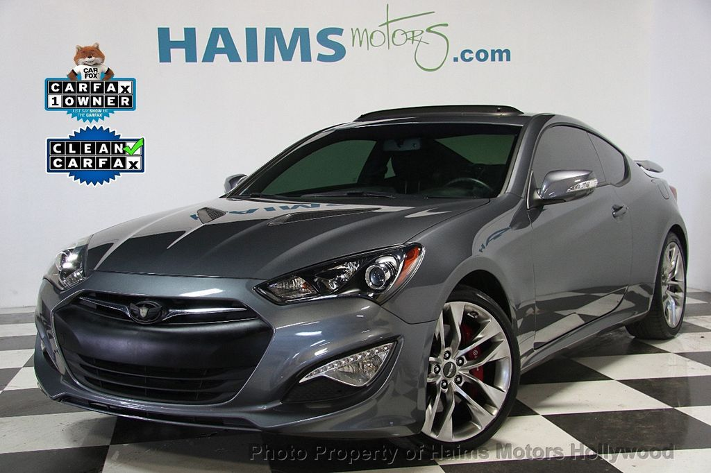 2015 used hyundai genesis coupe 2dr 3 8l automatic ultimate w black seats at haims motors. Black Bedroom Furniture Sets. Home Design Ideas