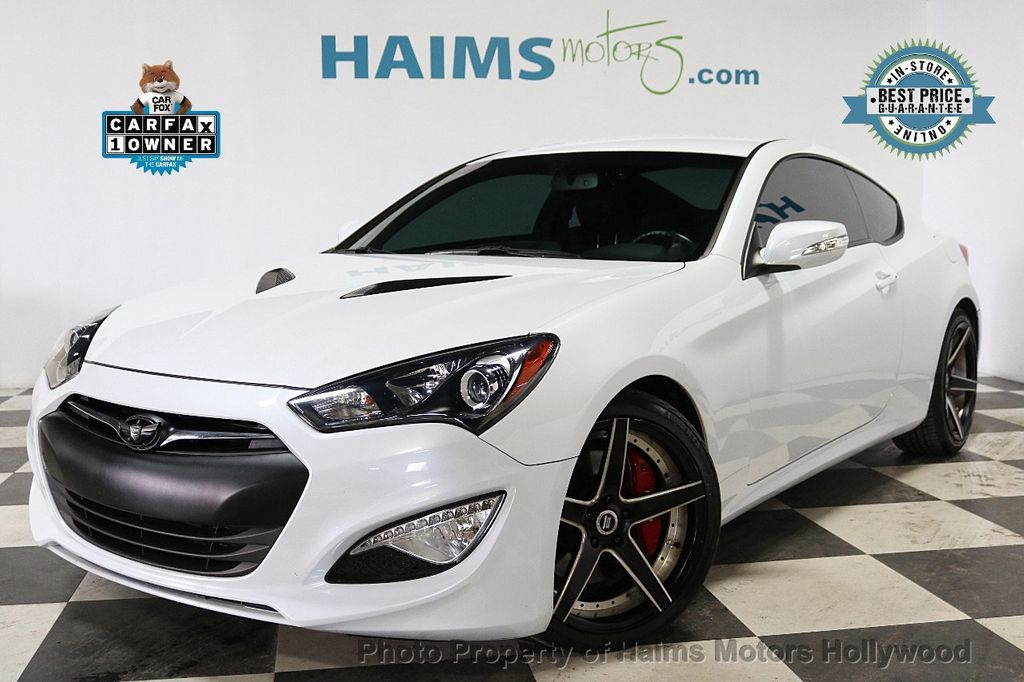 2015 Hyundai Genesis Coupe 2dr 3.8L Manual Ultimate w/Black Seats - 18196929