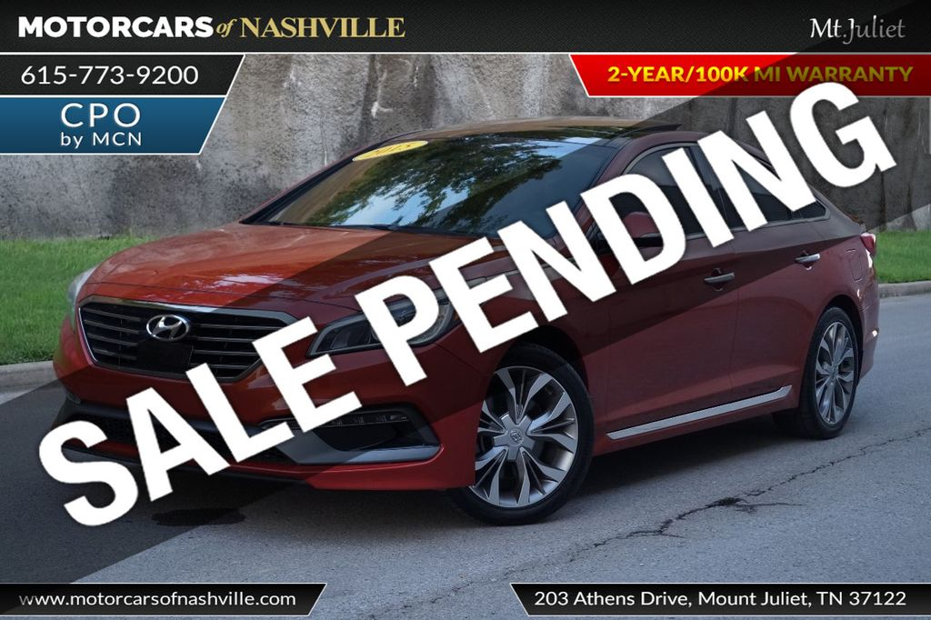 2015 Hyundai Sonata 4dr Sedan 2.0T Limited - 17953047 - 0