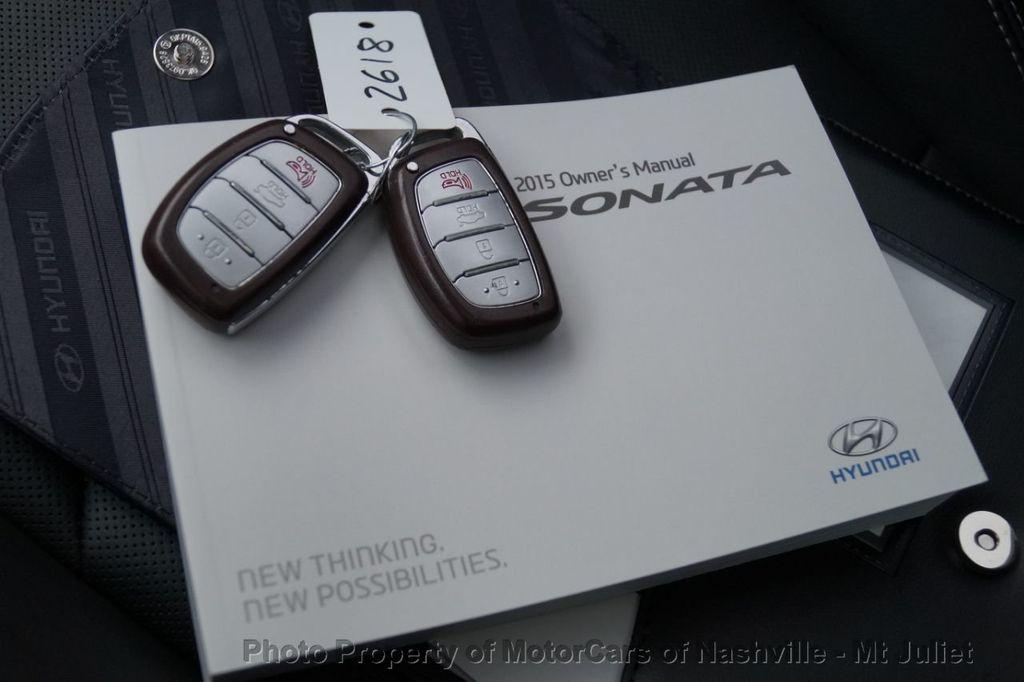 2015 Hyundai Sonata 4dr Sedan 2.0T Limited - 17953047 - 55