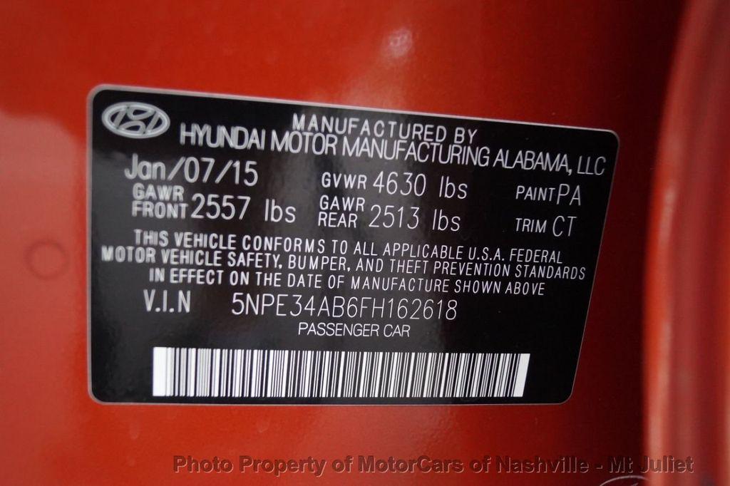 2015 Hyundai Sonata 4dr Sedan 2.0T Limited - 17953047 - 56