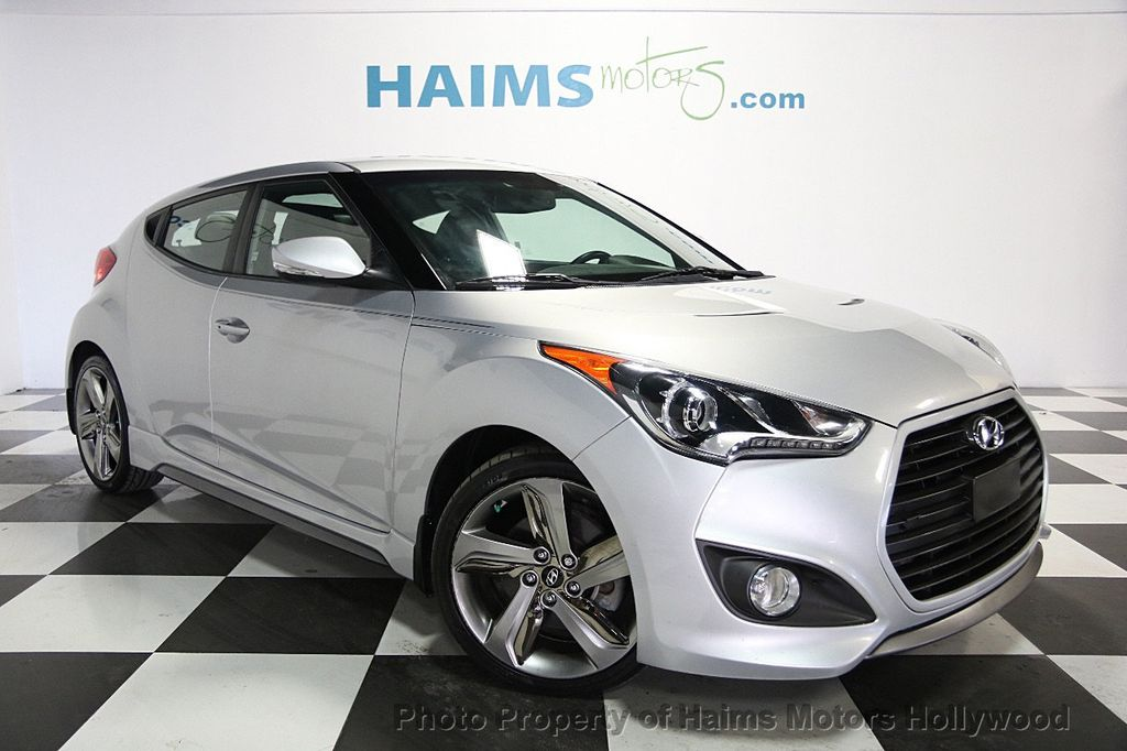 Charming 2015 Hyundai Veloster 3dr Coupe Automatic Turbo   16465337   2