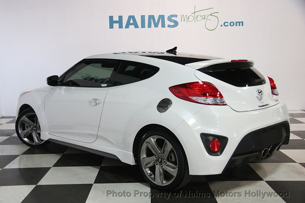 2015 used hyundai veloster 3dr coupe manual turbo at haims motors serving fort lauderdale. Black Bedroom Furniture Sets. Home Design Ideas