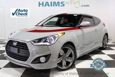 2013 Used Hyundai Veloster 3dr Coupe Automatic w/Red Int at