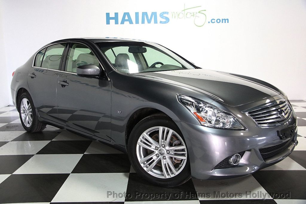 2015 used infiniti q40 4dr sedan awd at haims motors hollywood serving fort lauderdale. Black Bedroom Furniture Sets. Home Design Ideas
