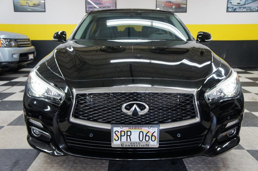 2015 Used INFINITI Q50 4dr Sedan Premium RWD at Auto