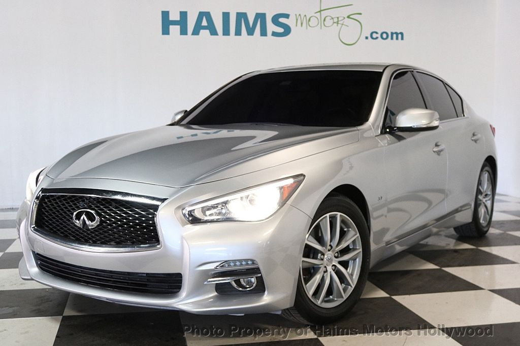 2015 used infiniti q50 4dr sedan rwd at haims motors. Black Bedroom Furniture Sets. Home Design Ideas