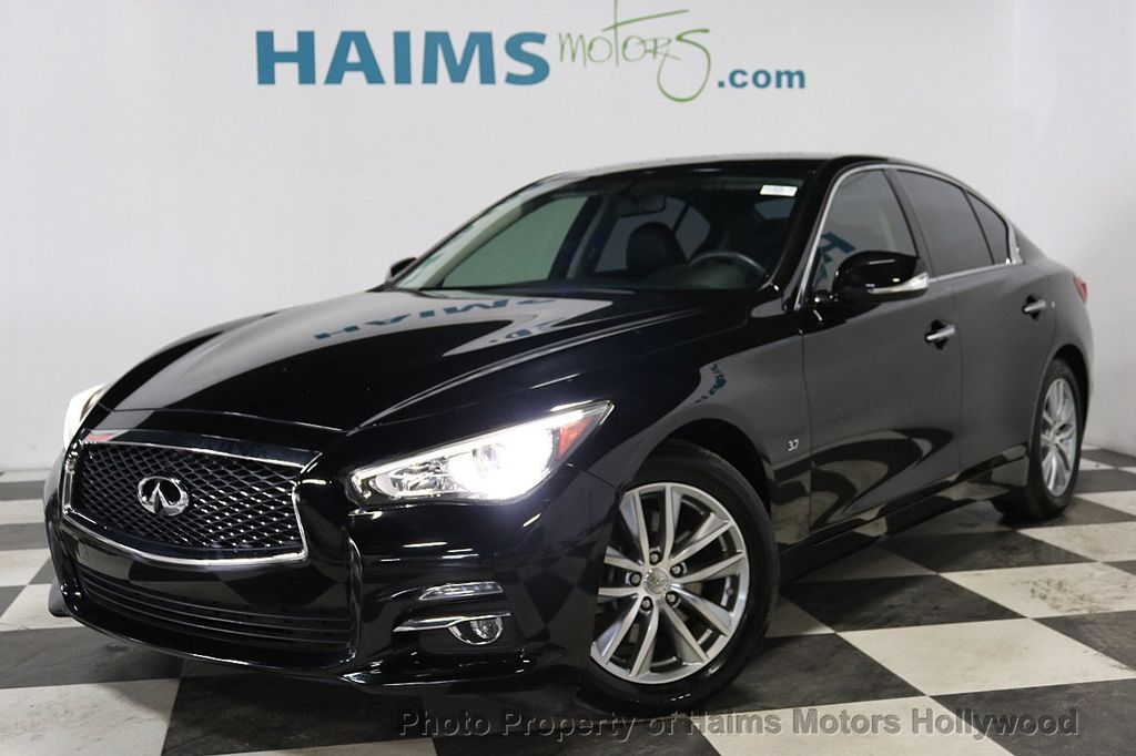 2015 used infiniti q50 4dr sedan rwd at haims motors serving fort lauderdale hollywood miami. Black Bedroom Furniture Sets. Home Design Ideas
