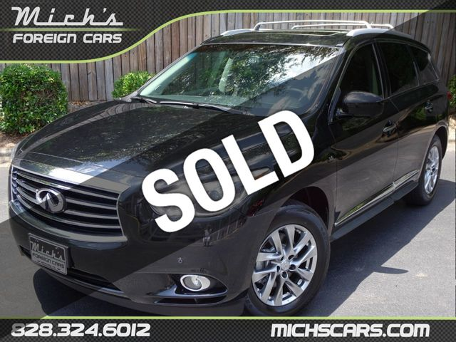 2015 Used INFINITI QX60 - DRIVER ASSIST - NAVIGATION - REAR ENTERTAINMENT -  BACKUP CAM - at Michs Foreign Cars Serving Hickory, NC, IID 18981799