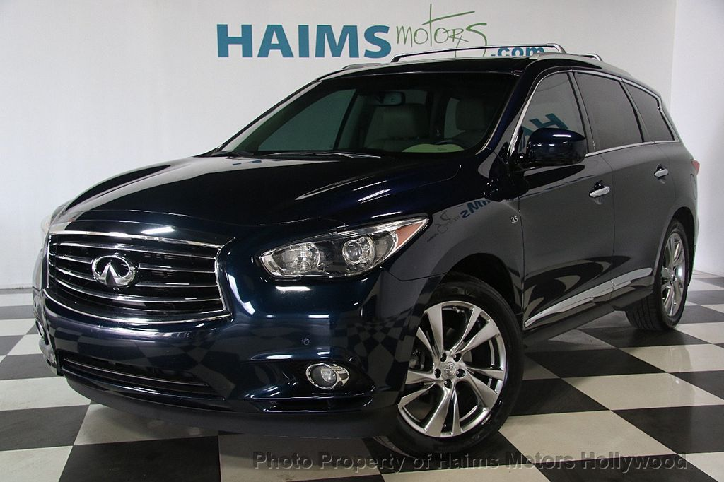 2015 used infiniti qx60 fwd 4dr at haims motors ft. Black Bedroom Furniture Sets. Home Design Ideas
