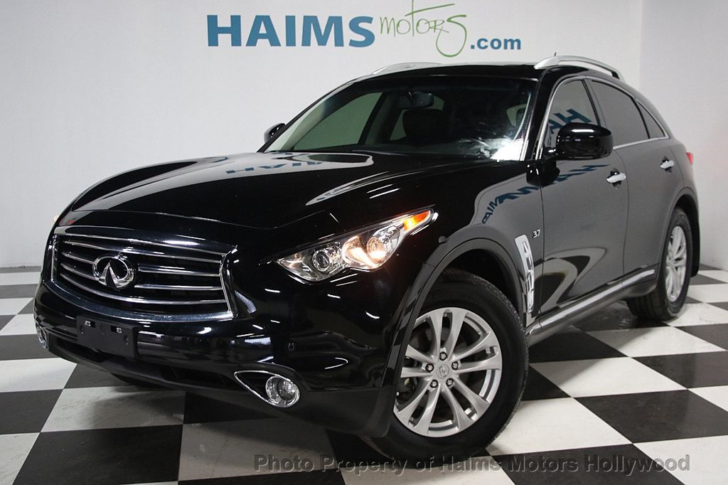 2015 used infiniti qx70 rwd 4dr at haims motors serving fort lauderdale hollywood miami fl. Black Bedroom Furniture Sets. Home Design Ideas
