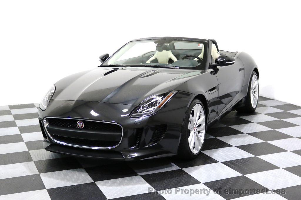 2015 Jaguar F TYPE CERTIFIED F TYPE V6 Blind Spot MERIDIAN CAMERA NAVI