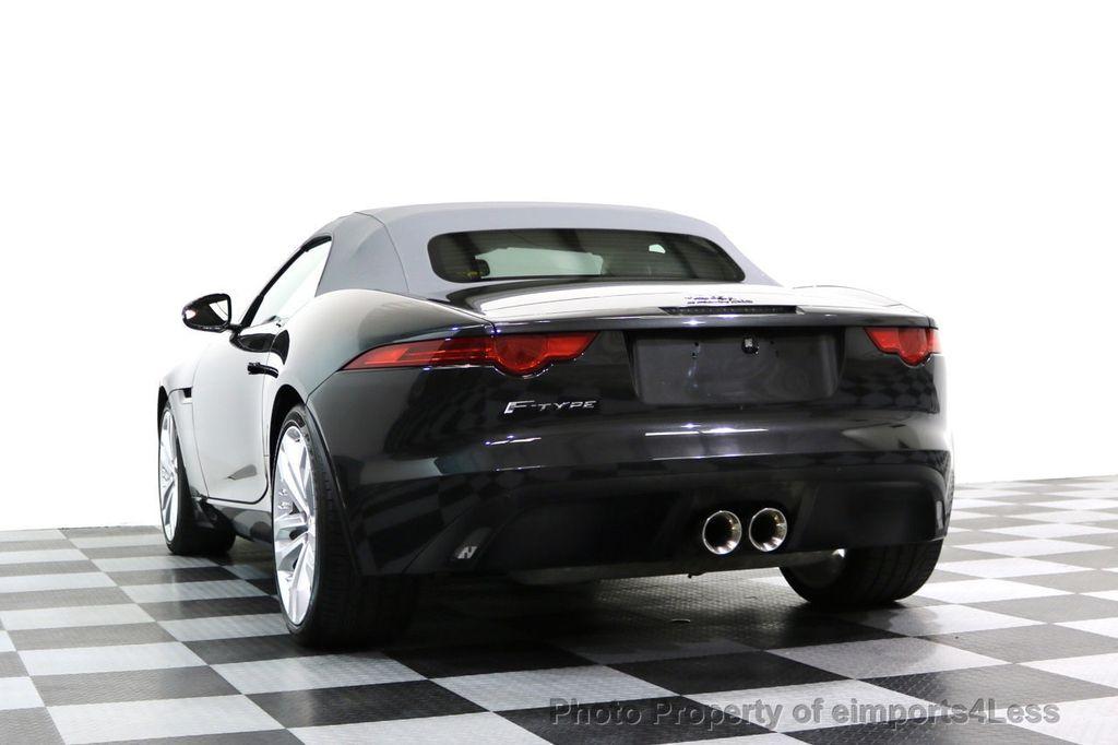 2015 Jaguar F-TYPE CERTIFIED F-TYPE V6 Blind Spot MERIDIAN CAMERA NAVI - 17234536 - 31