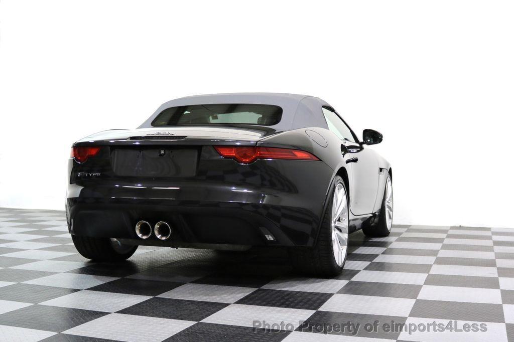 2015 Jaguar F-TYPE CERTIFIED F-TYPE V6 Blind Spot MERIDIAN CAMERA NAVI - 17234536 - 32