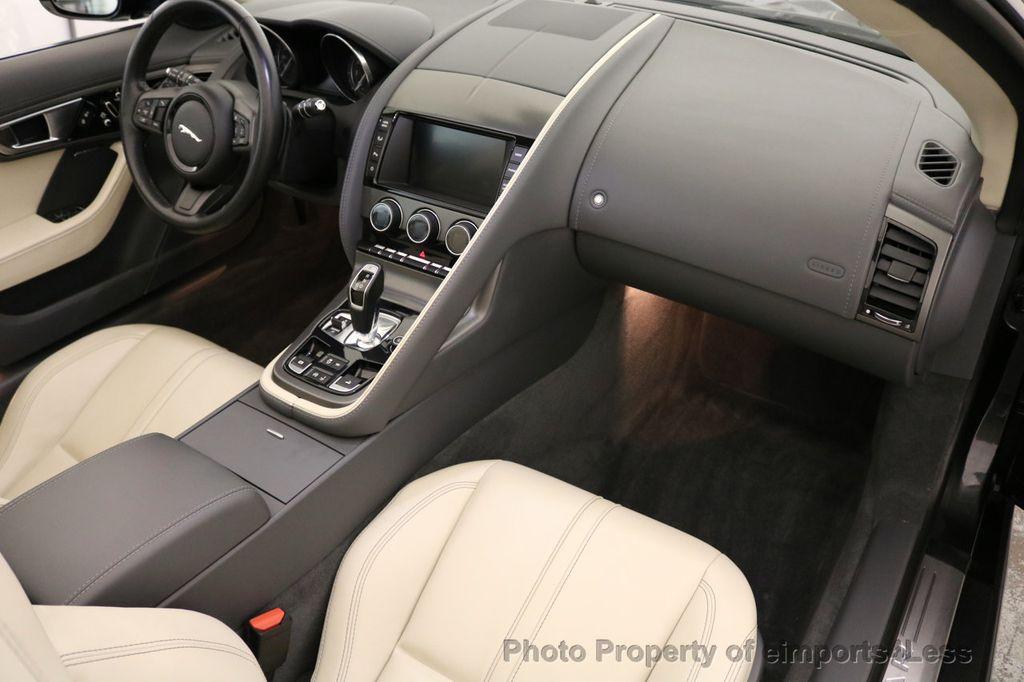 2015 Jaguar F-TYPE CERTIFIED F-TYPE V6 Blind Spot MERIDIAN CAMERA NAVI - 17234536 - 36