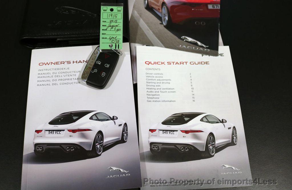 2015 Jaguar F-TYPE CERTIFIED F-TYPE V6 Blind Spot MERIDIAN CAMERA NAVI - 17234536 - 37