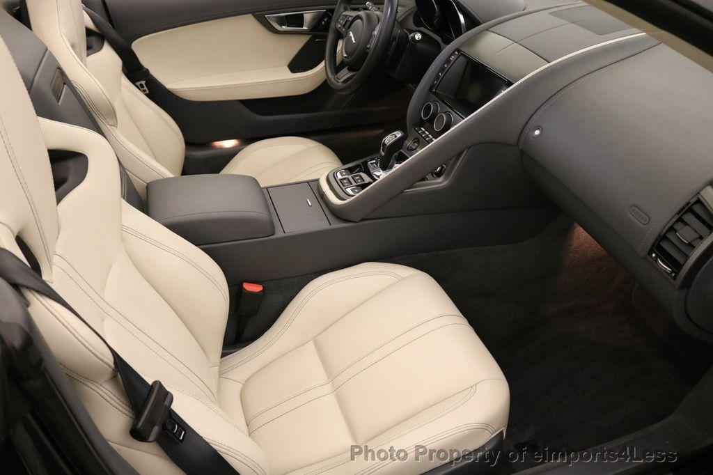 2015 Jaguar F-TYPE CERTIFIED F-TYPE V6 Blind Spot MERIDIAN CAMERA NAVI - 17234536 - 43