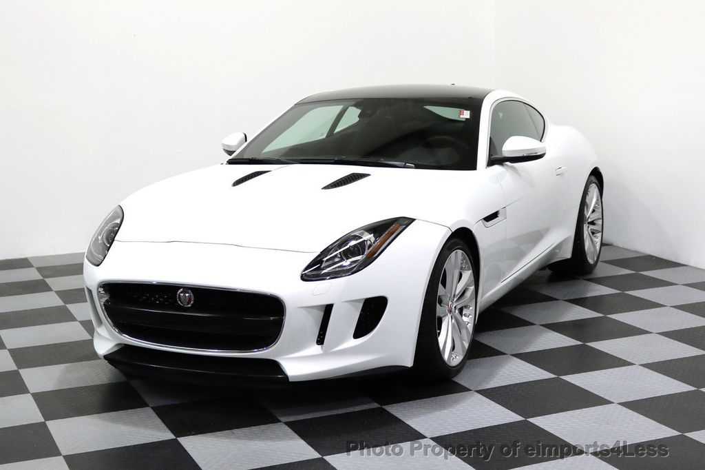 2015 Jaguar F TYPE CERTIFIED F TYPE V6 Coupe 20s BLACK PACK CAM NAVI