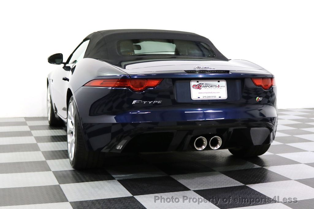 2015 Jaguar F-TYPE CERTIFIFIED F-TYPE S BLIND SPOT MERIDIAN NAVIGATION - 17724865 - 16