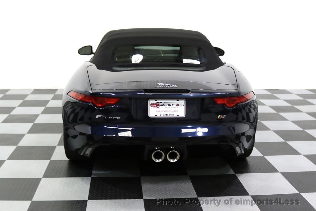 2015 Jaguar F-TYPE CERTIFIFIED F-TYPE S BLIND SPOT MERIDIAN NAVIGATION - 17724865 - 17