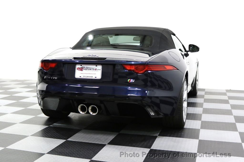 2015 Jaguar F-TYPE CERTIFIFIED F-TYPE S BLIND SPOT MERIDIAN NAVIGATION - 17724865 - 18