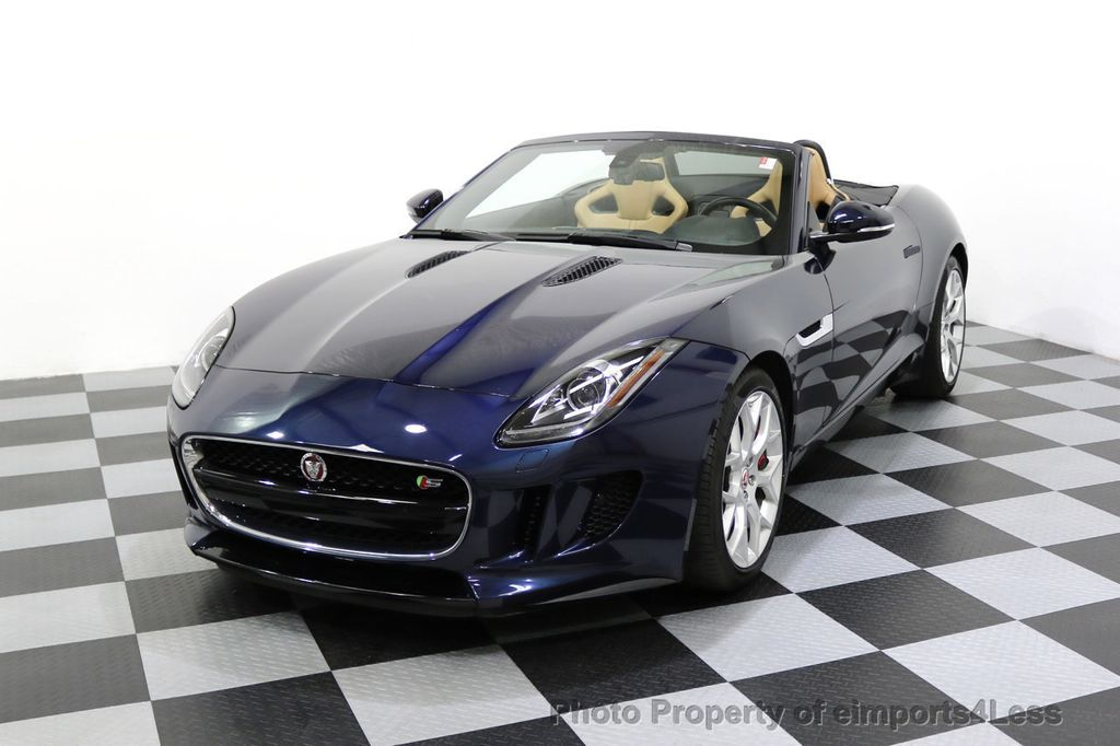 2015 Jaguar F-TYPE CERTIFIFIED F-TYPE S BLIND SPOT MERIDIAN NAVIGATION - 17724865 - 27