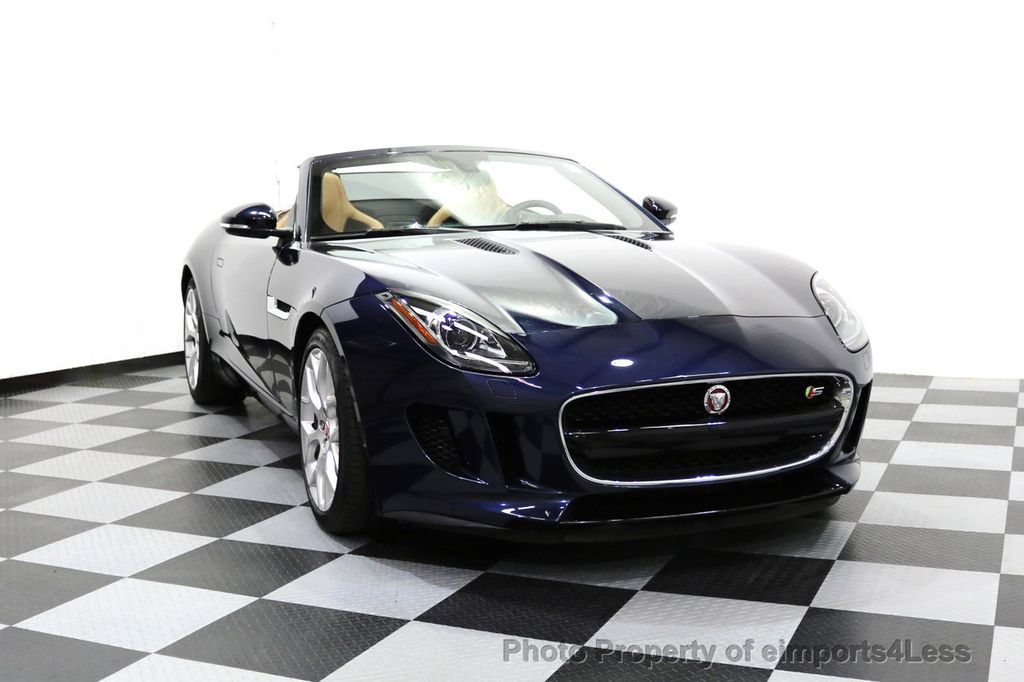 2015 Jaguar F-TYPE CERTIFIFIED F-TYPE S BLIND SPOT MERIDIAN NAVIGATION - 17724865 - 28
