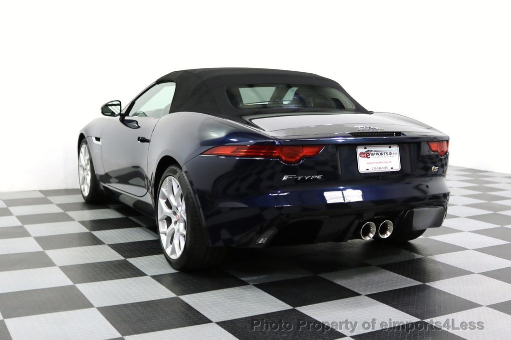 2015 Jaguar F-TYPE CERTIFIFIED F-TYPE S BLIND SPOT MERIDIAN NAVIGATION - 17724865 - 29
