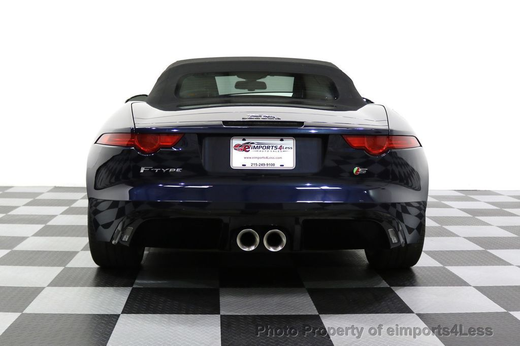 2015 Jaguar F-TYPE CERTIFIFIED F-TYPE S BLIND SPOT MERIDIAN NAVIGATION - 17724865 - 30