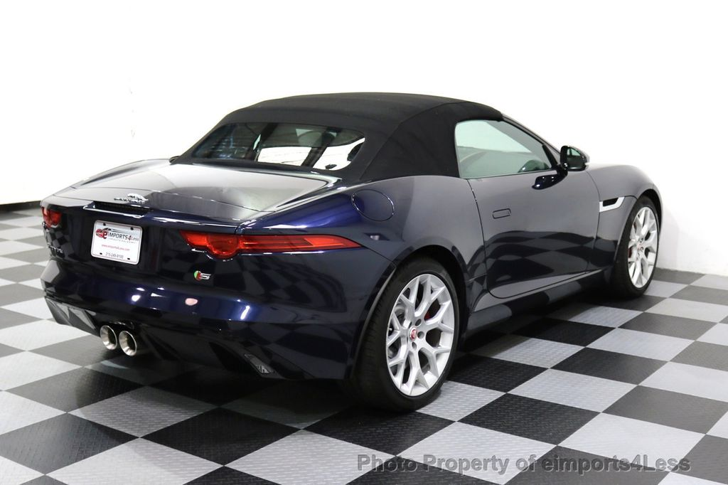 2015 Jaguar F-TYPE CERTIFIFIED F-TYPE S BLIND SPOT MERIDIAN NAVIGATION - 17724865 - 31