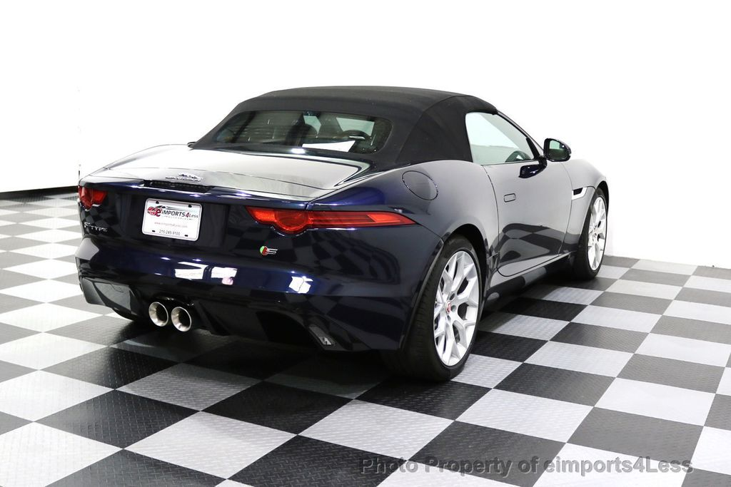 2015 Jaguar F-TYPE CERTIFIFIED F-TYPE S BLIND SPOT MERIDIAN NAVIGATION - 17724865 - 3