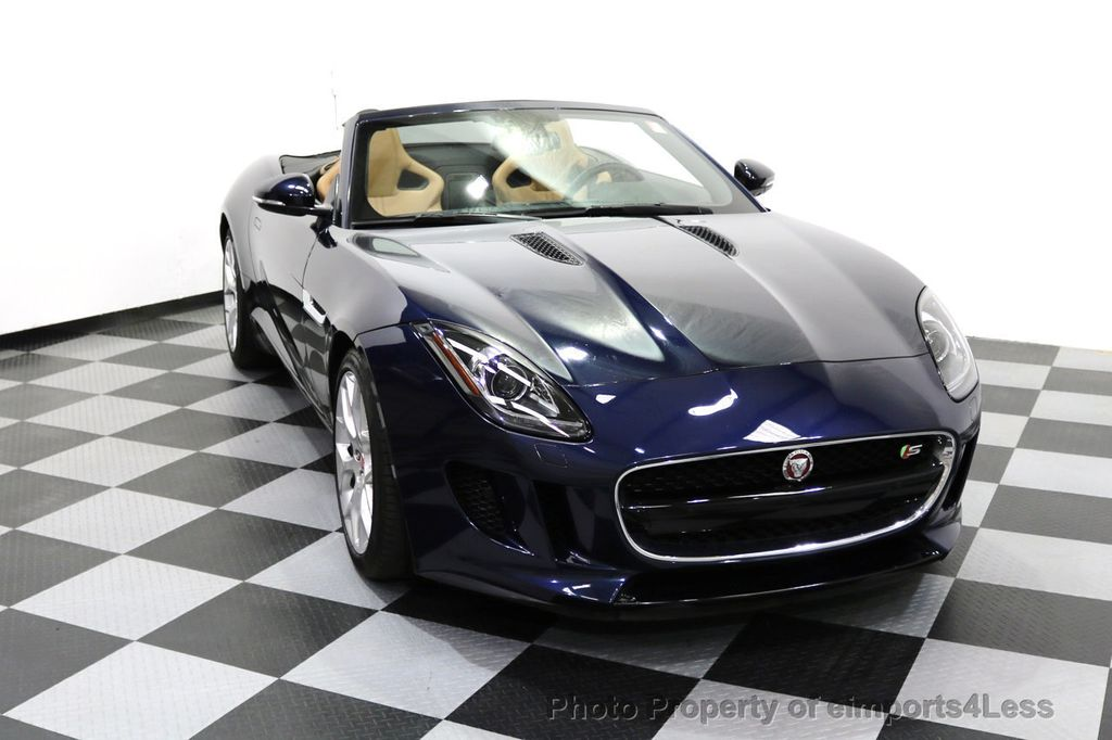 2015 Jaguar F-TYPE CERTIFIFIED F-TYPE S BLIND SPOT MERIDIAN NAVIGATION - 17724865 - 41