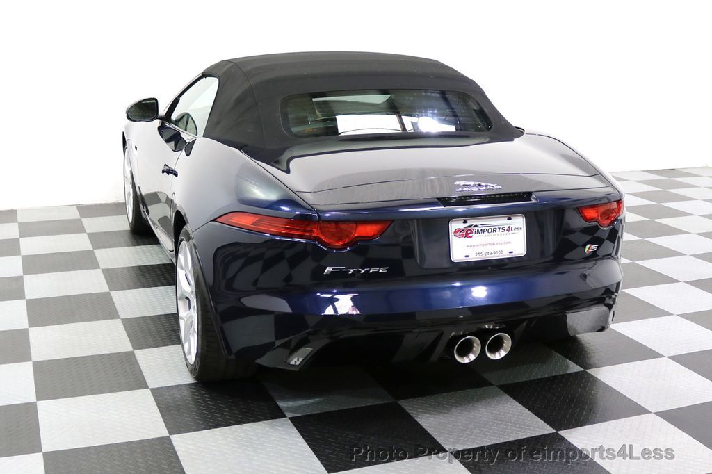 2015 Jaguar F-TYPE CERTIFIFIED F-TYPE S BLIND SPOT MERIDIAN NAVIGATION - 17724865 - 42