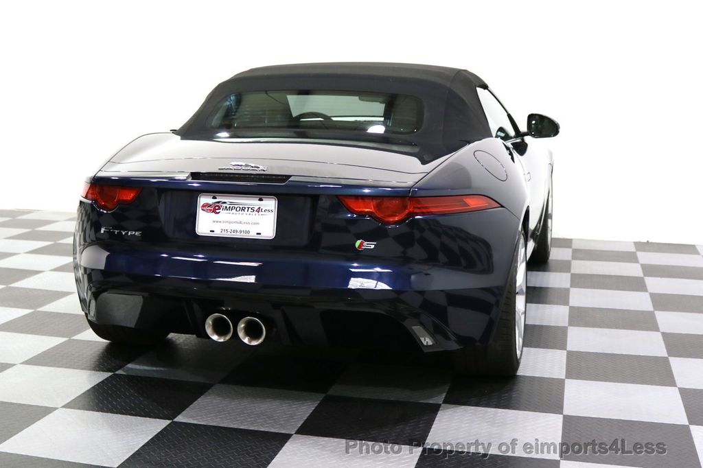2015 Jaguar F-TYPE CERTIFIFIED F-TYPE S BLIND SPOT MERIDIAN NAVIGATION - 17724865 - 43