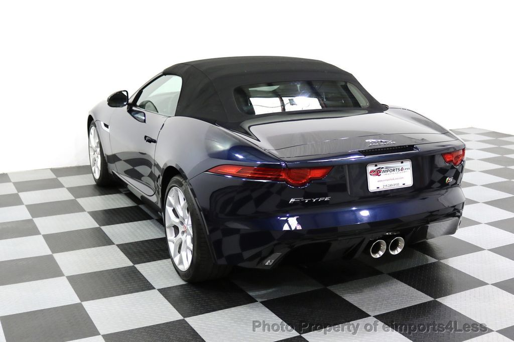 2015 Jaguar F-TYPE CERTIFIFIED F-TYPE S BLIND SPOT MERIDIAN NAVIGATION - 17724865 - 48