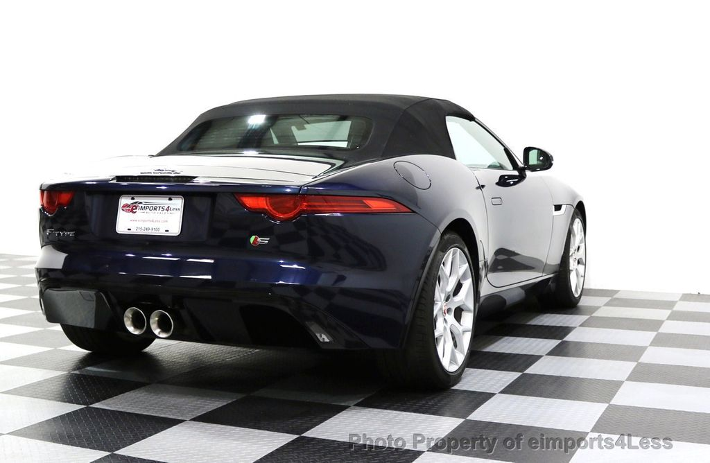 2015 Jaguar F-TYPE CERTIFIFIED F-TYPE S BLIND SPOT MERIDIAN NAVIGATION - 17724865 - 49